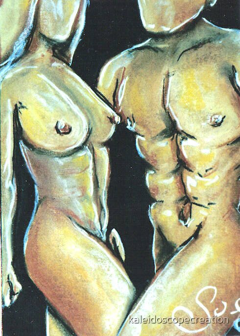 nude couple 1 by kaleidoscopecreation