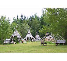 Camp At Grand Portage Photographic Print