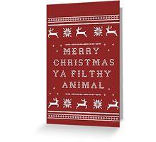 Sweater Shirt | Filthy Animal Greeting Card