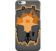 Crash vs the world iPhone Case/Skin