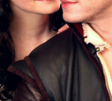 Once Upon a Time - Snow x Charming Sticker