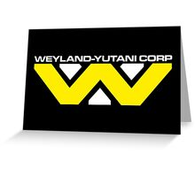 Weyland Yutani Corp Greeting Card