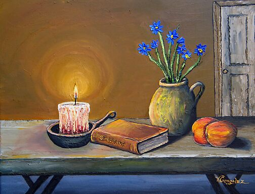 CANDLELIGHT by vilma gonzalez