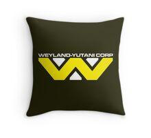Weyland Yutani Corp Throw Pillow