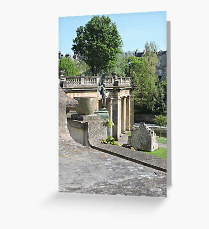 Parade Gardens: Bath Greeting Card