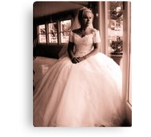 Bridal Reflection Canvas Print