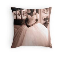 Bridal Reflection Throw Pillow