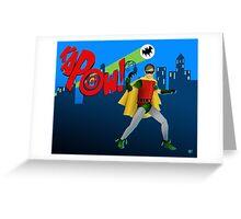 The Boy Wonder Greeting Card
