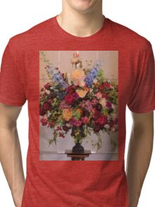 Flowers In The Mansion Tri-blend T-Shirt