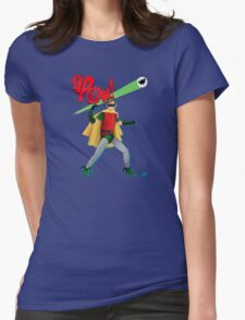 The Boy Wonder Womens Fitted T-Shirt