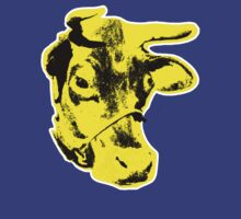 Andy Warhol - Yellow Cow by GilbertValenz