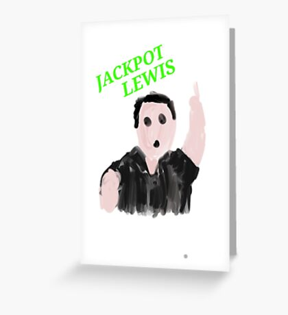Adrian JackPot Greeting Card