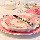 High Tea - Cheeky Pink Vintage Royal Albert by Yannik Hay