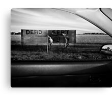 Dead Sert Canvas Print