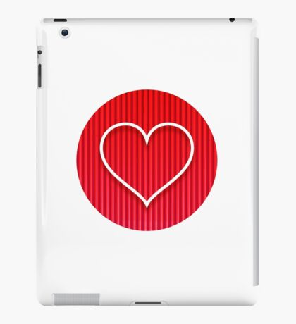 Love Coeur iPad Case/Skin