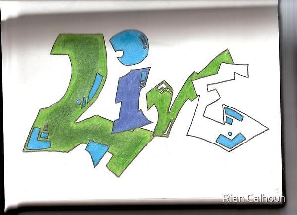 Grafiti (LIVE) by Rian Calhoun
