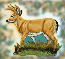 Craft Foam Deer by WildestArt