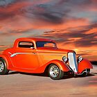 1934 Ford 'Copper Rod' Coupe by DaveKoontz