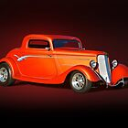 1934 Ford 'Copper Rod' Coupe Studio by DaveKoontz