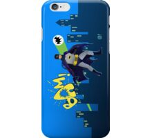 The Caped Crusader iPhone Case/Skin