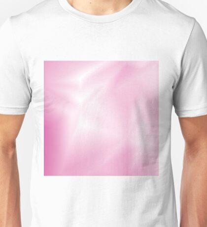 pink wave background Unisex T-Shirt