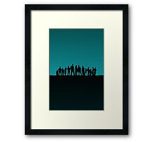 all of us are lost Framed Print
