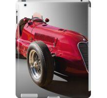 1939 Maserati 8CTF Race Car III iPad Case/Skin