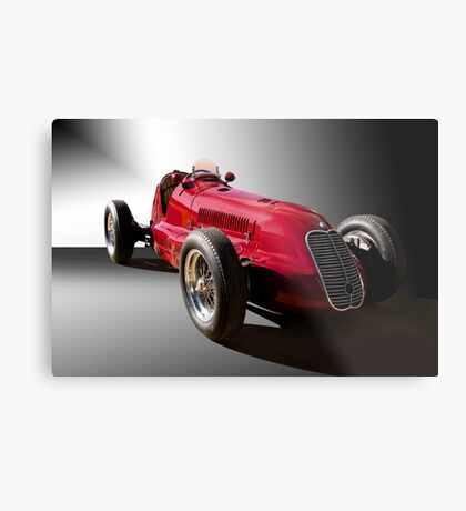 1939 Maserati 8CTF Race Car III Metal Print