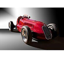 1939 Maserati 8CTF Race Car III Photographic Print