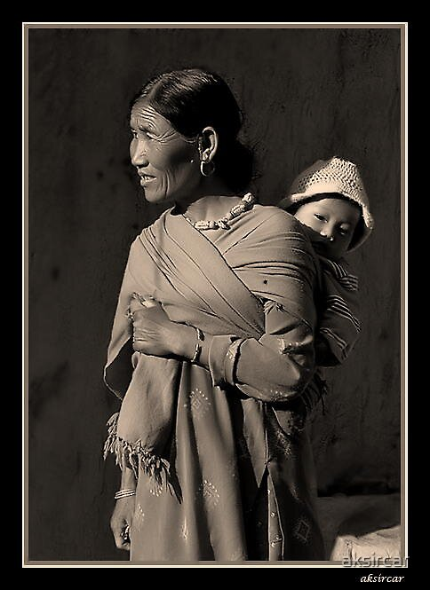 Mother & Child by aksircar