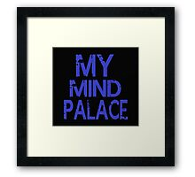 MY MIND PALACE Framed Print