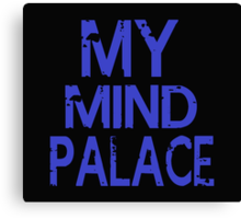MY MIND PALACE Canvas Print