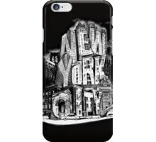 New York City Pencil by Tai's Tees iPhone Case/Skin
