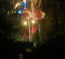 New Years Eve Fireworks by gillsart