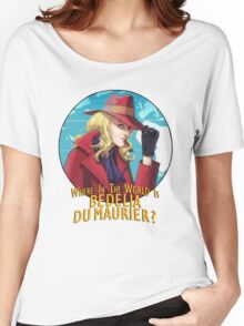 Where in the world is Bedelia Du Maurier? Women's Relaxed Fit T-Shirt