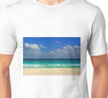 The Beach at Playa del Carmen Unisex T-Shirt