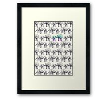 Born to Stand Out Framed Print