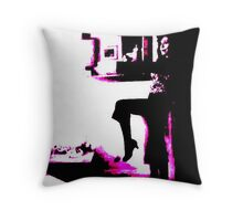 Theater To The Right Throw Pillow
