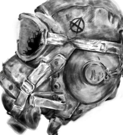 War is hell! Sticker