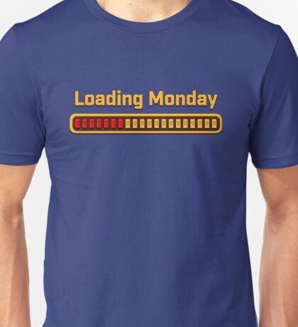 Loading Monday - sad Unisex T-Shirt