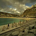 The Beach at Amadores  by Rob Hawkins