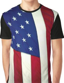 Stars and Stripes Forever Graphic T-Shirt