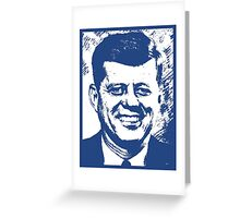 JFK (LARGE) Greeting Card