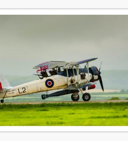 WWII Plane Sticker