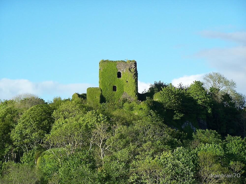 Dunollie Castle by drainbrain70