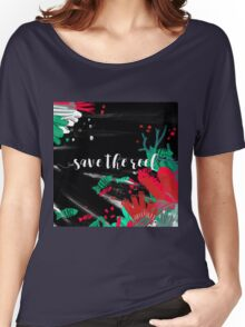 Save the reef Women's Relaxed Fit T-Shirt