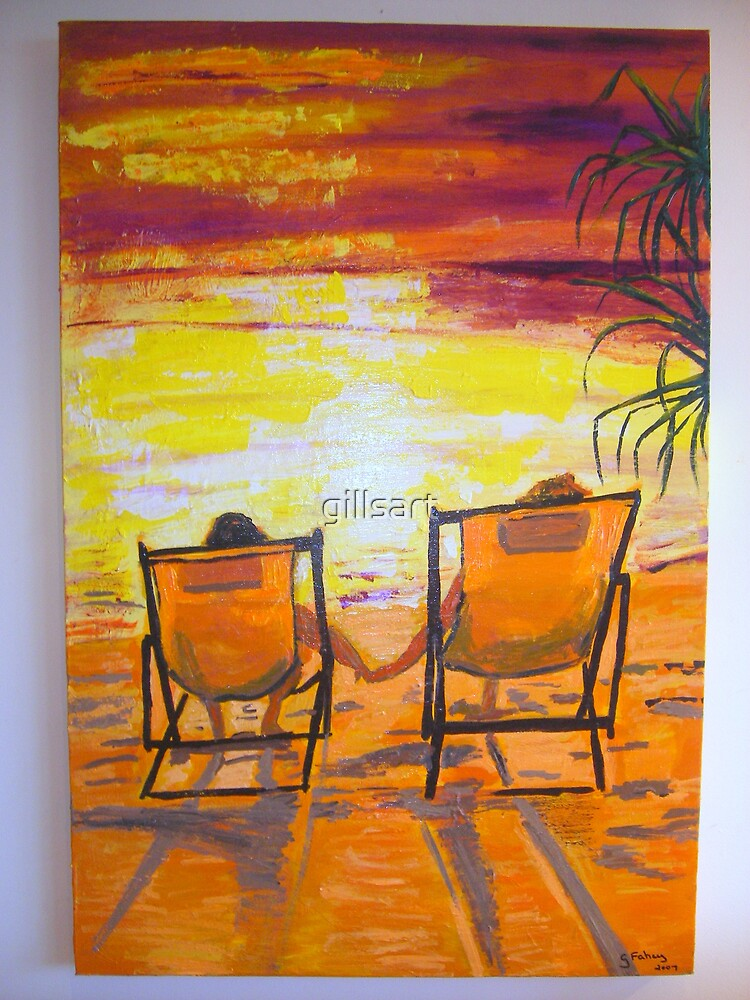 Happy Days-Relax  by gillsart