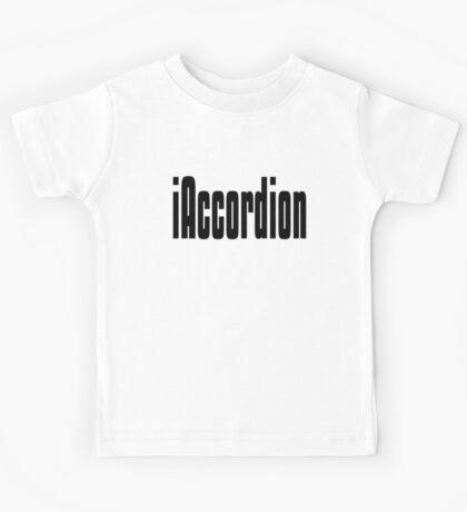 Funny Accordion T Shirt Kids Tee