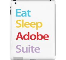 Eat Sleep Adobe Suite iPad Case/Skin