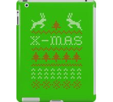 Merry Christmas / x-mas knit design ugly iPad Case/Skin
